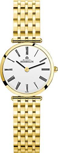 Michel Herbelin 17116/BP01N Damen-Uhr Epsilon Analog Quarz Edelstahl-Band