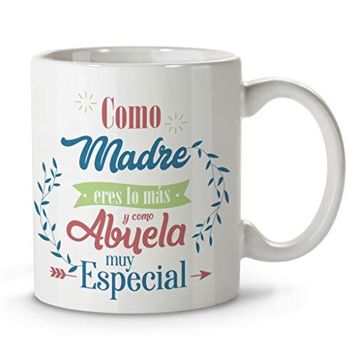 LolaPix Taza Personalizada. Regalos Personalizados con Nombre y Texto. Tazas con Frases Originales. Especial Rosa