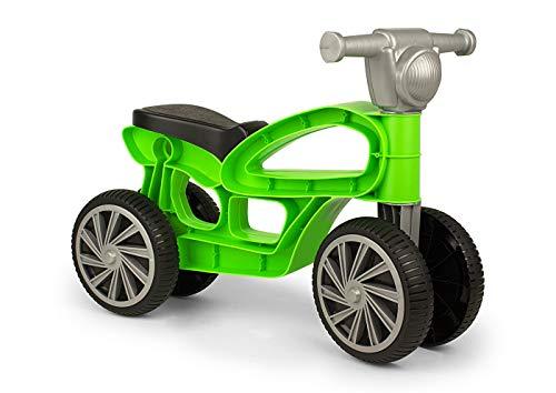 Chicos - Correpasillos con cuatro ruedas Mini Custom verde (Fábrica de Juguetes 36048)