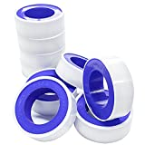 Beymill Duct Tape Teflon Tape,10 Pack Plumbers Tape Thread Seal Tape,Flex Seal Tape Waterproof for Plumbing,White 1/2' x 394'