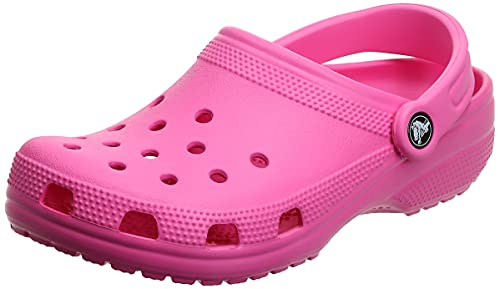 Crocs Unisex Men's and Women's Classic Clog, Electric Pink, 8 US