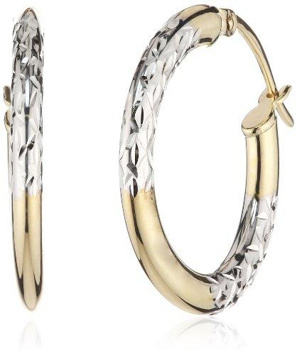 Amor Jewelry Damen-Creolen 8 Karat 333 Gelbgold 354028