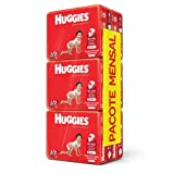 Huggies Pacote Mensal Supreme Care Mega G, 192 Fraldas