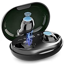 Excellente Autonomie de la Batterie : les ecouteur bluetooth offrent jusqu'à 8 heures de sortie sonore de haute qualité sur une seule charge,(c'est 2 fois l'écouteur normal),et l'étui de charge inclus fournit 6 charges, donnant 48 heures de temps de ...