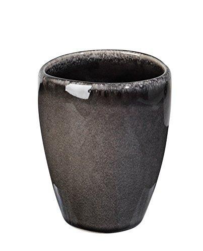 broste Copenhagen Nordic Coal Becher, Steinzeug, 8cm