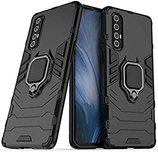 جراب وغطاء لهاتف Oppo Reno 3 Pro، من مادة TPU + جراب واقٍ مضاد للصدمات مع حامل بطاقة لهاتف Oppo Reno3 Pro