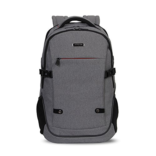 Laptop Backpack, LETSCOM Ultra-Light Business Backpack for Women & Men, Lightweight Backpack Travel...