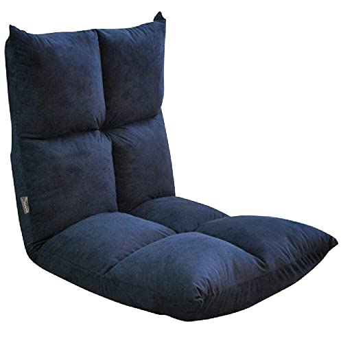 ZHANGYY Patio Lounge Chairs Lounge Chair, Bodenklappspiel Sofastuhl Lazy Foldable 5 File Adjustable Sofa Recliner Durable