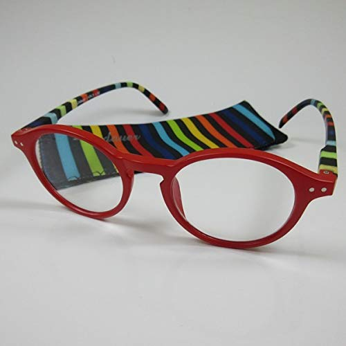 LINDAUER Klassische große Lesebrille +3,0 Fertigbrille Lesehilfe Flexbügel
