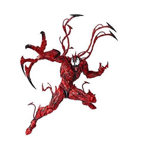 lkw-love Marvel Toys - Marvel Legends Figura de acción Carnage Red Standard Venom Toys Vehículos para niños Colección de Regalos de cumpleaños - Decoración del automóvil