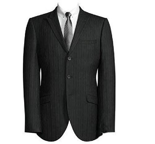 New Fashion edel gestreift Schwarz Jacke/Festliche Blazer/eleganter Sakko (170/176)