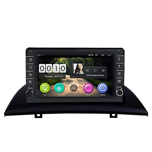 ADMLZQQ Autoradio Bluetooth 2 DIN Androide 10 Radio para BMW X3 E83 2004-2012 NavegacióN GPS Pantalla TáCtil De 9 Pulgadas con Reproductor Multimedia/Control del Volante/BT USB FM WiFi,WiFi 2+32