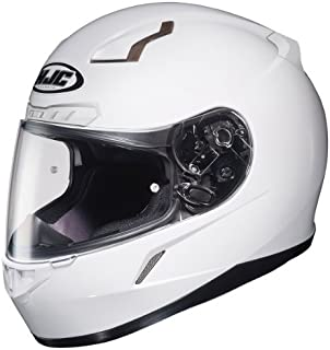 HJC 824-144 CL-17 Full-Face Motorcycle Helmet (White, Large)