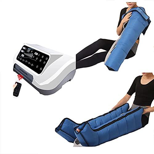 Beine Knie Füße Arme Bauch Wraps Massager Schmerzen Relief Massagegeräte mit Fernbedienung, 6 Modi 8 Intensität, Verbessert Fettleibigkeit Und Lindert Müdigkeit,Options 4