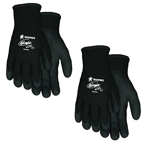 MCR Safety Memphis N9690L Ninja Ice Mechanic/Ice Fish Glove, Size Large (2 Pair)