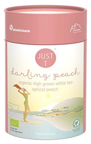 Just T BIO Weißer Hochland Tee Aprikose Pfirsich Lose - Darling Peach (80g)