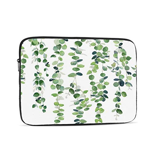 Eucalyptus Garland 13 Inch Laptop Sleeve Bag Compatible with 13.3' Old MacBook Air (A1466 A1369) Notebook Computer Protective Case Cover
