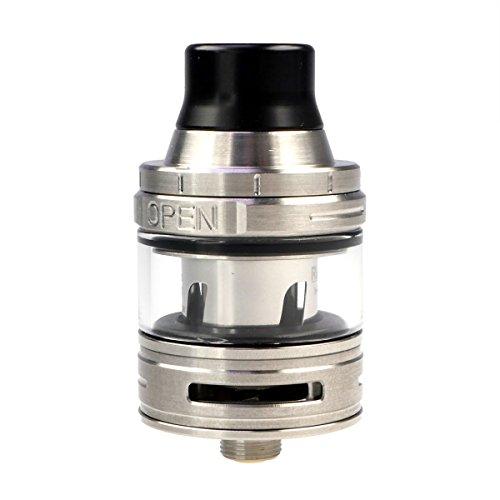 Eleaf ELLO Clearomizer 2 ml / 4 ml, Durchmesser 25 mm, Riccardo Verdampfer für e-Zigarette, silber