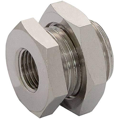 12 mm 1 pz. 1//2 /Ø tubo Norgren Raccordo diritto C02251248 Filetto esterno