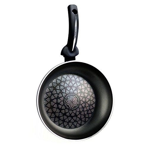 Pensofal, Pen 6801 Diamond High, padella, 20 cm di diametro, colore: nero