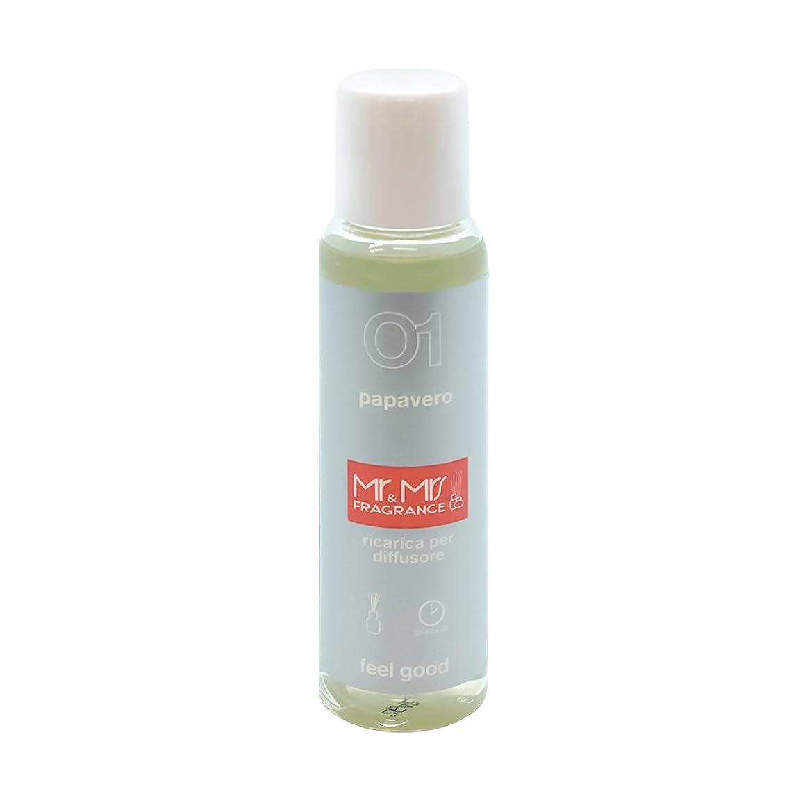 狂信者亡命ポーチMr&Mrs(ミスターアンドミセス)easy fragrance 01 ポピー リフィル 100ml