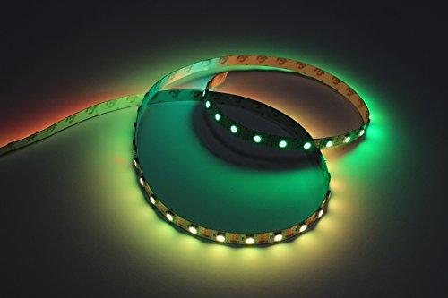 Addressable LED Strip WS2812B, 4 meters, 60 LEDs/meter, White PCB