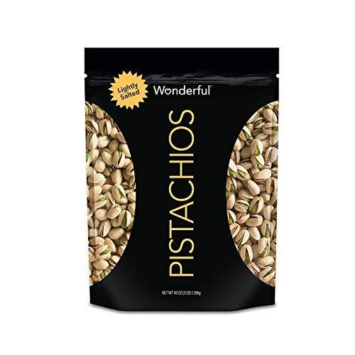 Wonderful Pistachios, Roasted Lightly Salted (48 oz.) (.48 OZ Lightly Salted)