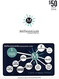 Millennium Restaurant Group Gift Card