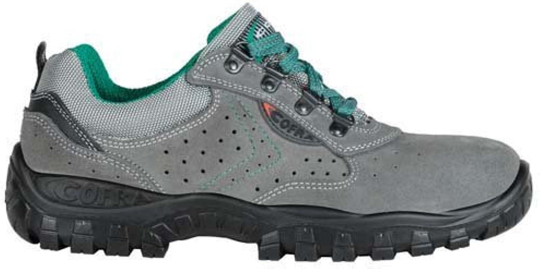 Cofra TA070-000.W47 Work shoes,  Moon , Size 12, Grey - EN safety certified