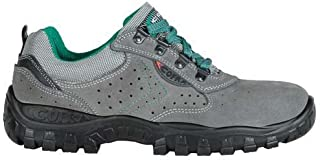 Cofra TA070-000.W43 Chaussures de travail Moon Taille 43 gris, Vert