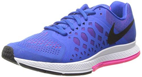 Nike Damen WMNS Air Zoom Pegasus 31 Laufschuhe, Blau Hyper Cobalt Schwarz Hyper Pink, 36 EU
