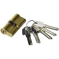 TFB7Q 3010151 Cilindro Seguridad T60 /30X30 Latonado, 30 x 30 mm