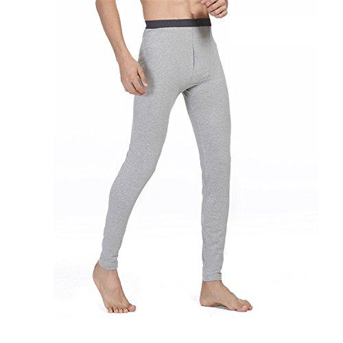 HMILYDYK de hombre Invierno Caliente térmica ropa interior pantalones capa Base pantalón de...