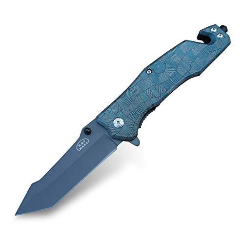 Klappmesser Messer Taschenmesser | Überlebensmesser Survival Messer | Taschenmesser Camping | Campingmesser Outdoor | Folding Knife Pocket Survival Für Abenteuer Wandern Jagen Angeln FD9291