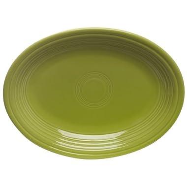 Fiesta 9-5/8-Inch Oval Platter, Lemongrass