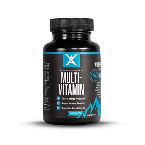 Wilderness Athlete: High Performance Multi-Vitamin, 90 Count Bottle, Pure Vitamins, Chelated Minerals, Nutrient Cofactors, & BioArmorTM Botanical Extracts for Superior Health, Wellness, & Performance