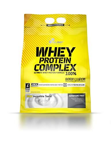 2 x Olimp Whey Protein Complex 100%, 700g Beutel , Vanille (2er Pack)