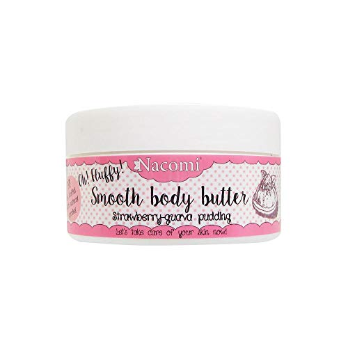 NACOMI Oh Fluffy! Smooth Body Butter – Beurre corps framboise/goyave 100g