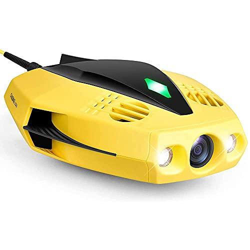 YSKCSRY HD Drone Submarine 1080p può Essere Visualizzato Fish Finder Collegati A WiFi Under Water Robot Multifunzionale RC Boat Sospeso Applicazione Telecomando Regali per Adulti E Bambini