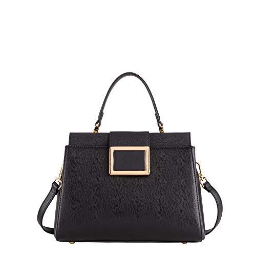 CARPISA® Handtasche mit Schulterriemen - Scilla, Schwarz One size