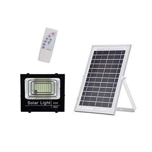 Popertr Luz blanca 25W 47 LED de potencia Calle IP67 luz solar a prueba de polvo y de...