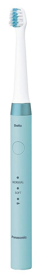 貝殻調べるサーマルパナソニック 電動歯ブラシ ドルツ 青 EW-DM62-A