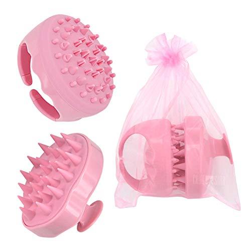 Hair Scalp Massager Shampoo Brush & Cellulite Massager (2-Pack), Chialstar Soft Silicone Scalp Care Hair Brush Perfect for Men, Women, Kids | Cellulite Brush body Massager Cellulite Remover