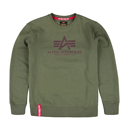 Alpha Industries Sweatshirt Basic green lilac (M)