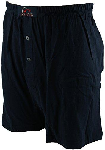 Perfect Collection Paquet de 2 Jersey Boxer Bleu 2XL