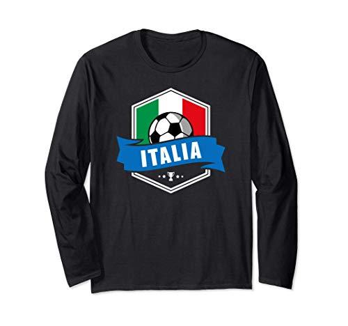 Italia Maglietta Calcio Nazionale Tiffosi Regalo 2020 2021 Maglia a Manica