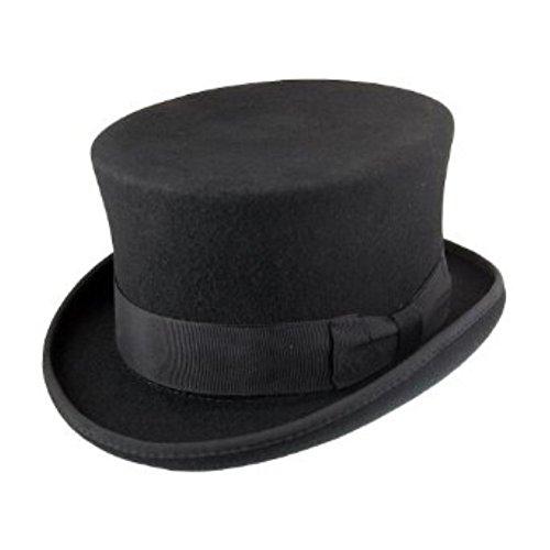 AB Hats - Chapeau melon - Homme Noir Noir