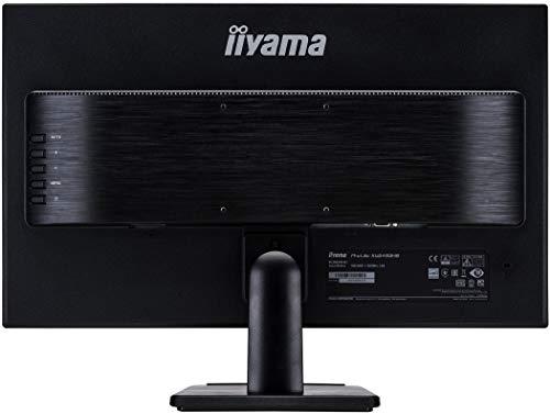 Iiyama iiyama Prolite XU2493HS-B1 60,47cm (23,8 Zoll) IPS LED-Monitor Full-HD (VGA, HDMI, DisplayPort, Ultra-Slim-Line) Schwarz