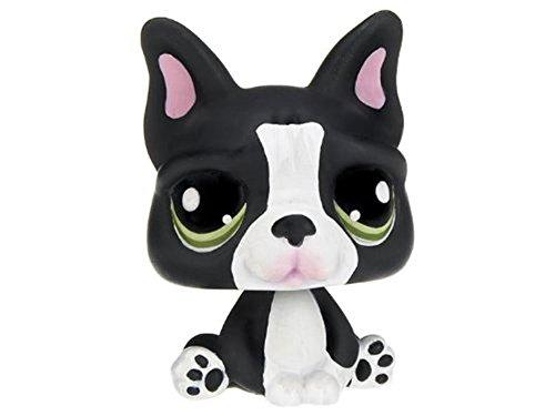 Hasbro Littlest Pet Shop Assortment 'A' Series 4 Collectible Figure Bulldog (Special Edition Pet!)