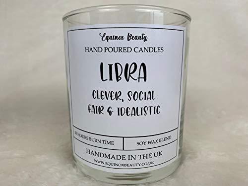 Equinox Beauty Libra Star Sign - Vela perfumada (30 cl)